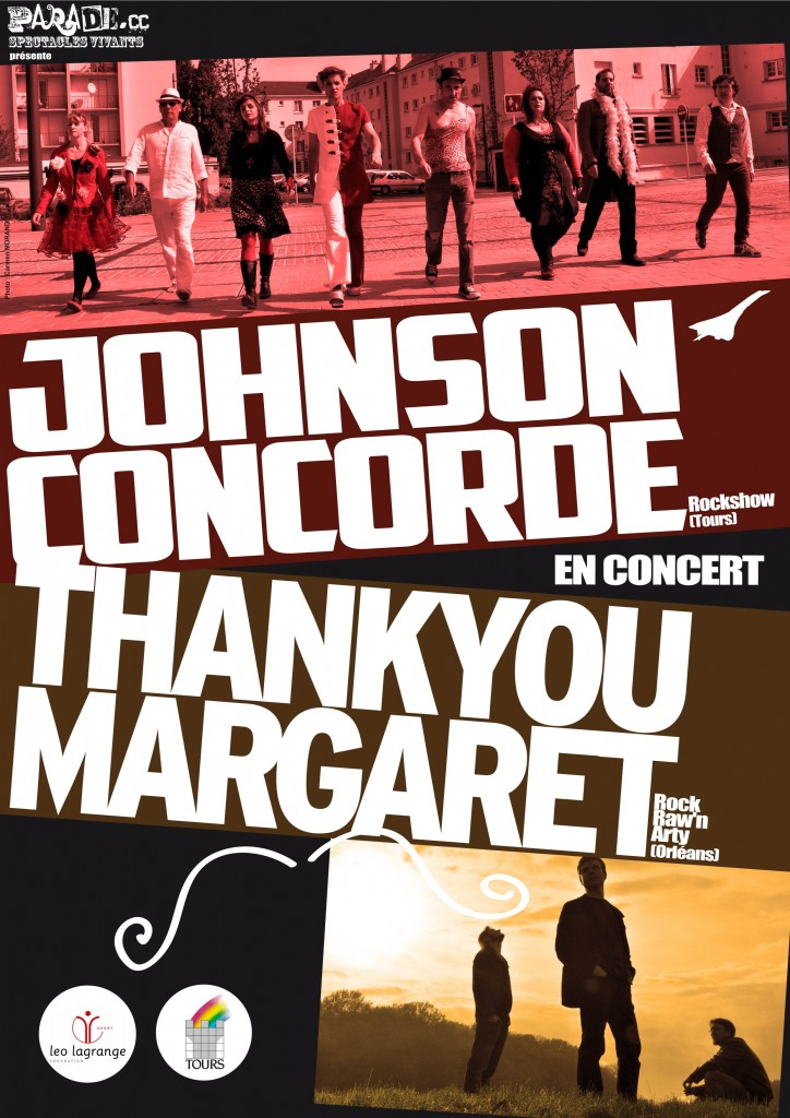 affiche thank you margaret / johnson concorde